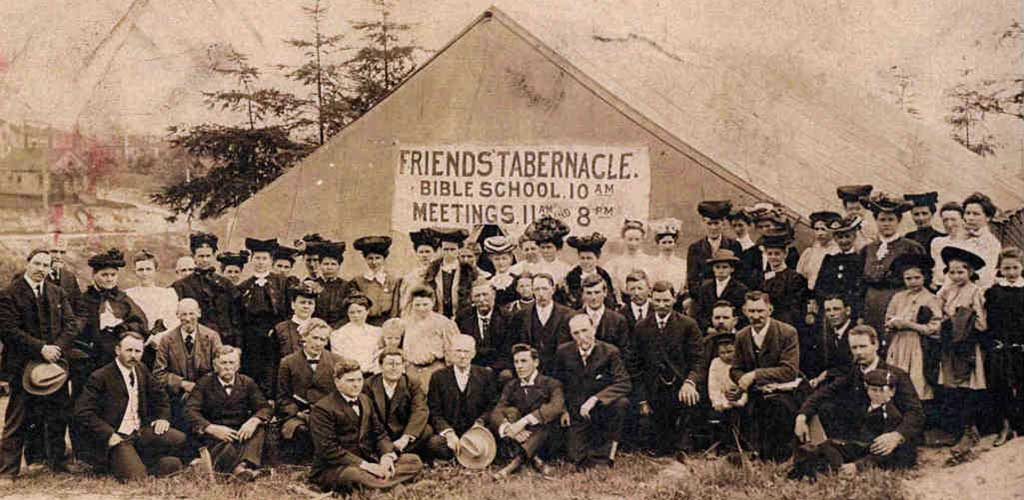 Friends Tabernacle Bible School, 1905